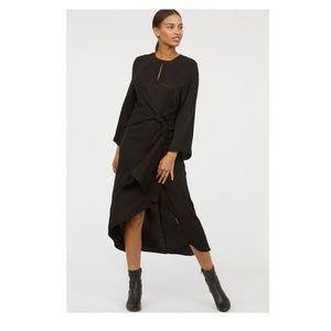 NWT - H&M leopard silk dress